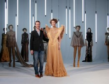Jan Taminiau op Haute Couture week