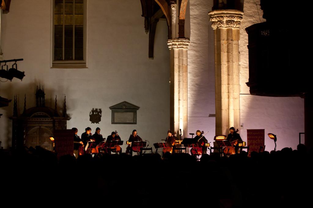 Kaarslichtconcert 2013 lichtontwerp Maarten Warmerdam Floriaan Ganzevoort 01