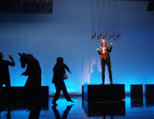 Scenography for 'Kasimir und Karoline' at Theater Basle