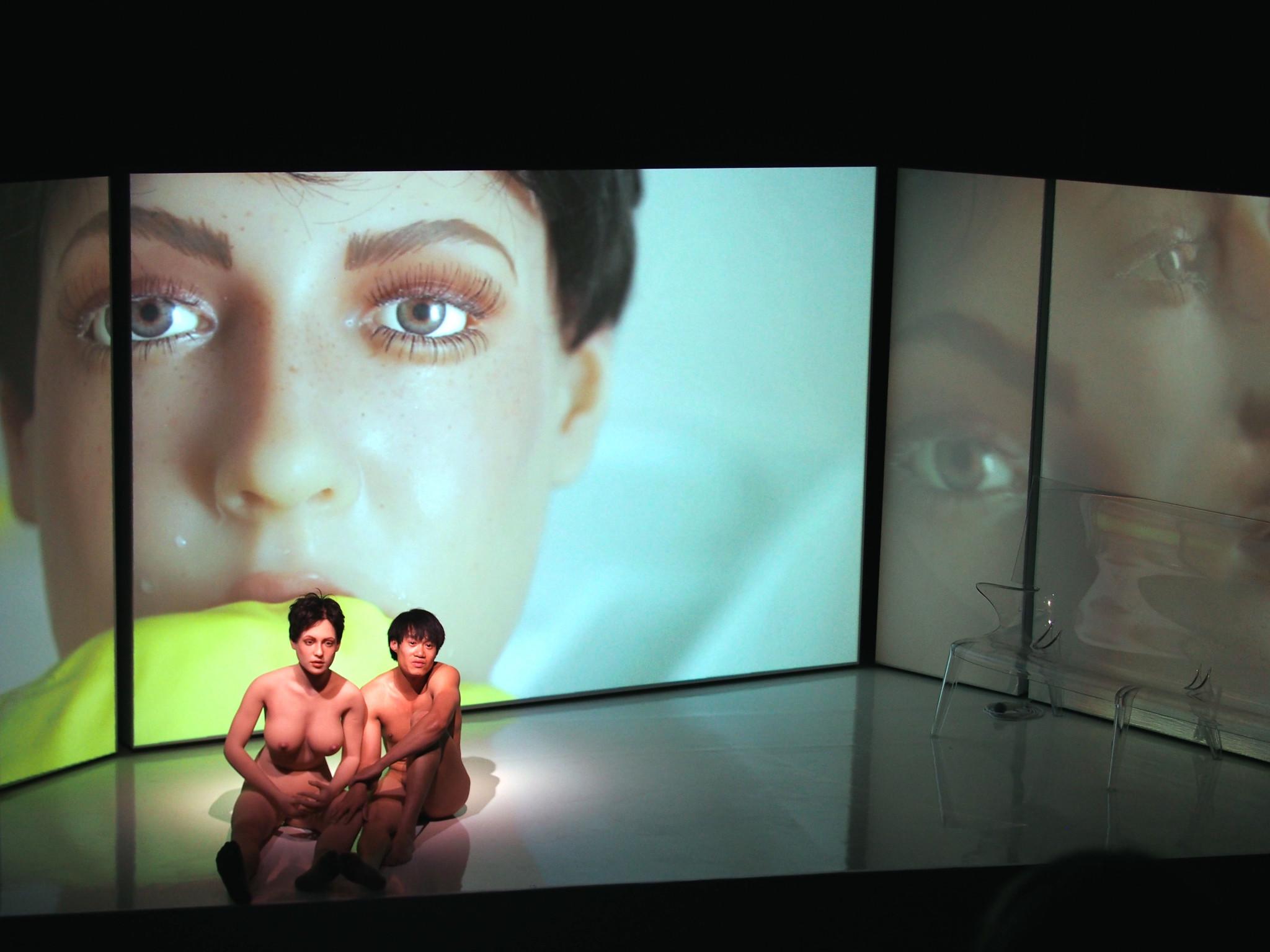 lichtontwerp en toneelbeeld: Floriaan Ganzevoort