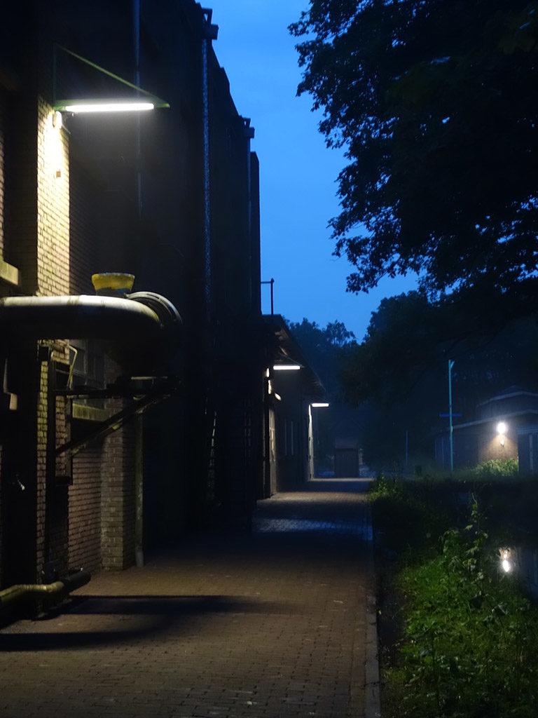 std-hembrug-avond-wandelpad