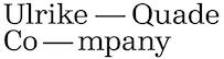Ulrike-Quade-Company