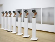 Isa Genzken at the Stedelijk
